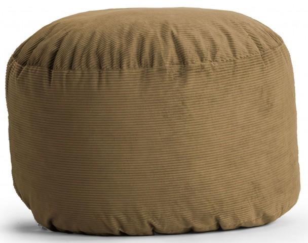 Big Joe King Fuf Coffee Wide Wale Corduroy Bean Bag