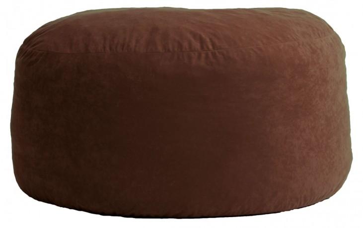 Big Joe Large Fuf Espresso Comfort Suede Bean Bag