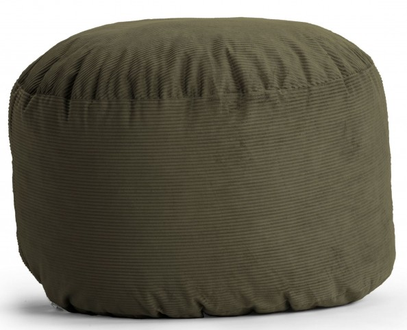 Big Joe Large Fuf Pewter Wide Wale Corduroy Bean Bag