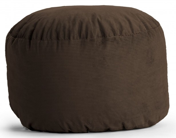 Big Joe Large Fuf Chocolate Wide Wale Corduroy Bean Bag