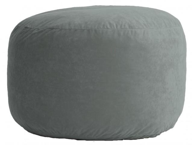 Big Joe Medium Fuf Steel Grey Comfort Suede Bean Bag