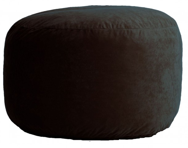 Big Joe Medium Fuf Black Onyx Comfort Suede Bean Bag