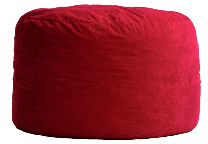 Fuf Small Sierra Red Comfort Suede Bean Bag
