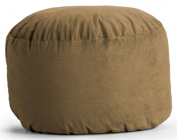 Fuf Small Coffee Wide Wale Corduroy Bean Bag