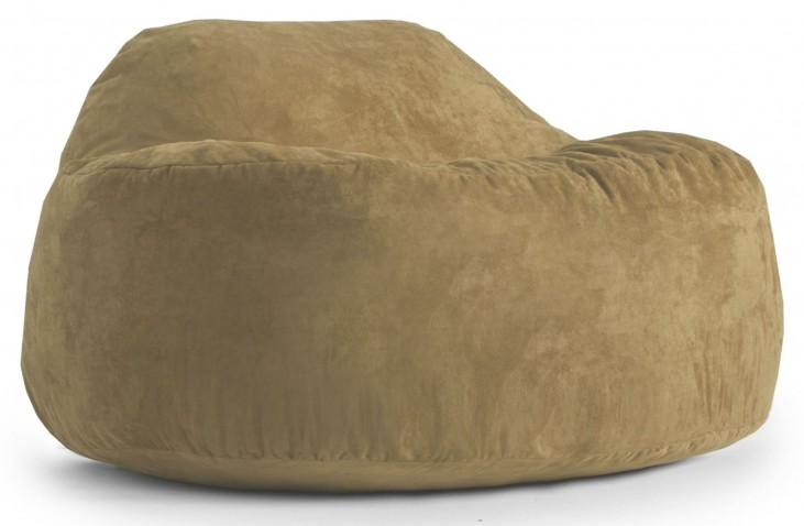 Big Joe Chillum Cloud 9 Sand Dune Suede Comfort Chair