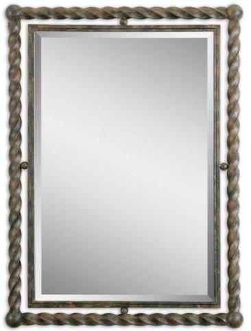 Garrick Wrought Iron Mirror