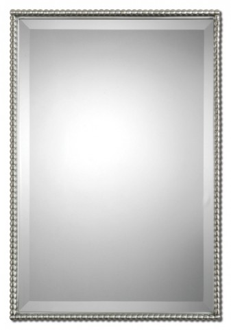 Sherise Brushed Nickel Mirror