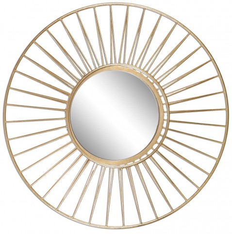 Caspian Round Mirror