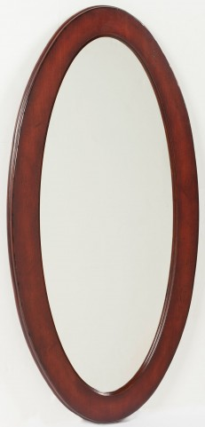 Plantation Cherry Oval Mirror