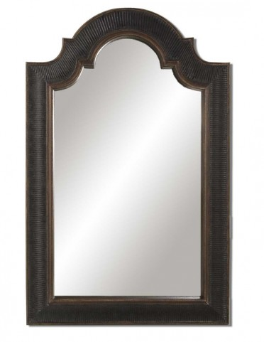 Ribbed Arch Antique Mirror
