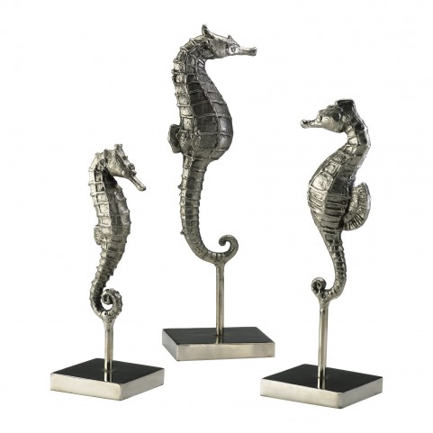 Seahorses On Stand 3 Piece