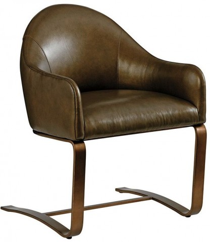 Cross Effect Icon Leather Desk Chair