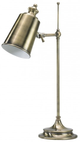 Adjustble Brass Lamp with CFL