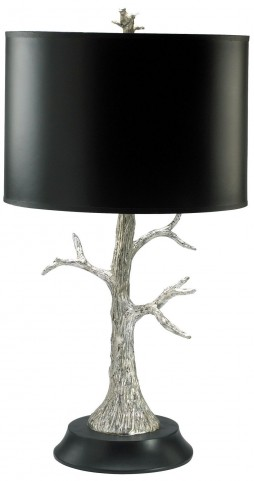 Silver Tree CFL Lamp
