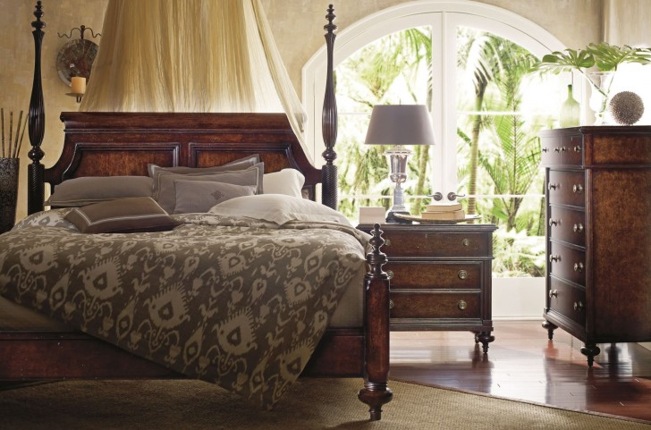 British Colonial Poster Bedroom Set