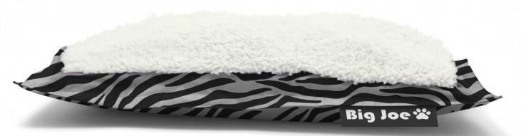 Big Joe Pet Bed Large Pillow Zebra SmartMax