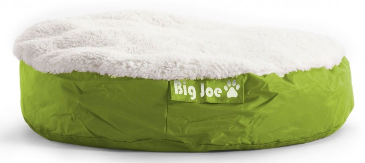 Big Joe Pet Bed Small Round Lime SmartMax
