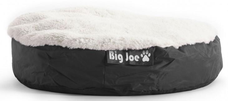 Big Joe Pet Bed Small Round Black SmartMax