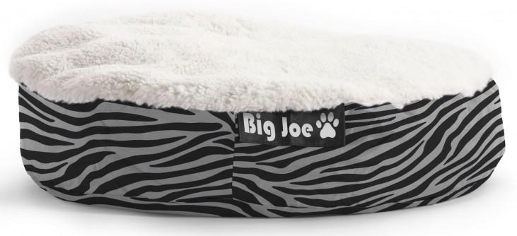 Big Joe Pet Bed Large Round Zebra SmartMax