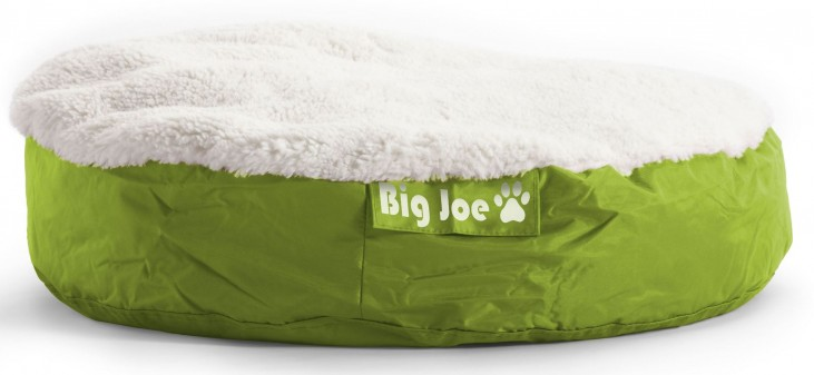 Big Joe Pet Bed Large Round Lime SmartMax