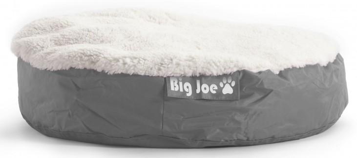 Big Joe Pet Bed Large Round Grey SmartMax