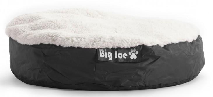 Big Joe Pet Bed Large Round Black SmartMax