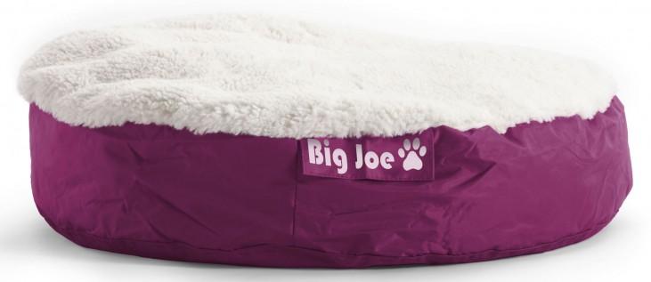 Big Joe Pet Bed Large Round Pink SmartMax