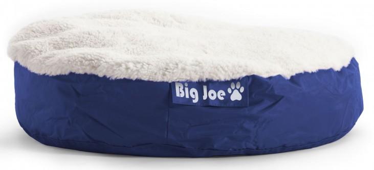 Big Joe Pet Bed Large Round Blue SmartMax
