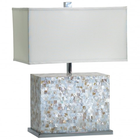 Shell Tile Lamp