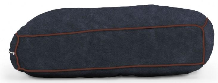 Big Joe Wuf Fuf Pet Bed Small Pillow Blue Sky Microsuede