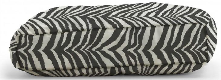 Big Joe Wuf Fuf Pet Bed Small Pillow Tunisia Black Twill