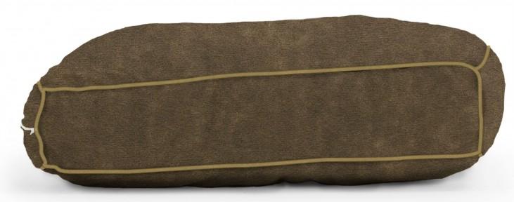 Big Joe Wuf Fuf Pet Bed Medium Pillow Espresso Microsuede