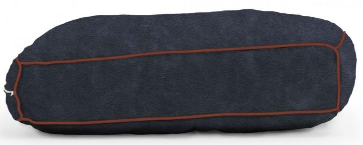 Big Joe Wuf Fuf Pet Bed Medium Pillow Blue Sky Microsuede