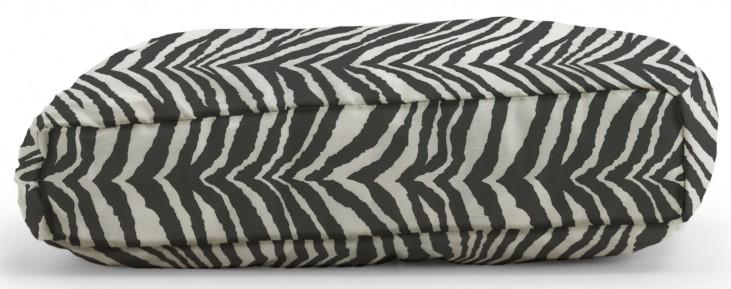 Big Joe Wuf Fuf Pet Bed Medium Pillow Tunisia Black Twill