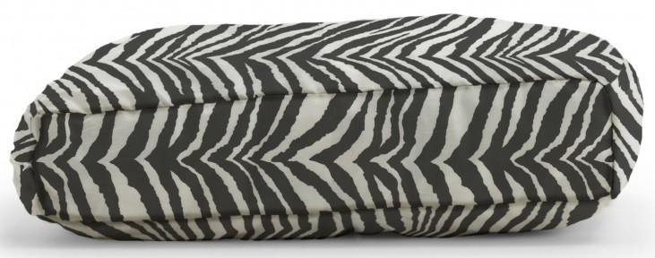 Big Joe Wuf Fuf Pet Bed Large Pillow Tunisia Black Twill