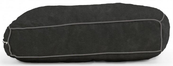 Big Joe Wuf Fuf Pet Bed X-Large Pillow Black Onyx Microsuede