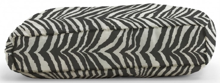 Big Joe Wuf Fuf Pet Bed X-Large Pillow Tunisia Black Twill