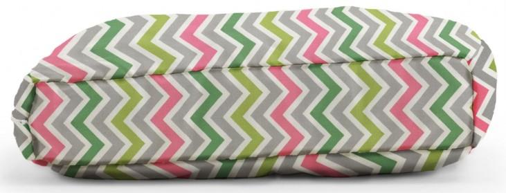 Big Joe Wuf Fuf Pet Bed X-Large Pillow Zoom Zoom Chartreuse Twill