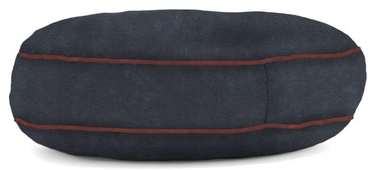 Big Joe Wuf Fuf Pet Bed Medium Round Blue Sky Microsuede