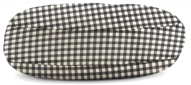 Big Joe Wuf Fuf Pet Bed Medium Round Black Anderson Twill