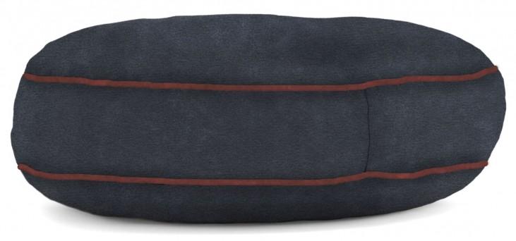 Big Joe Wuf Fuf Pet Bed X-Large Round Blue Sky Microsuede