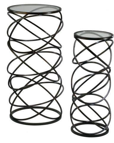 Spiral Tables Set of 2