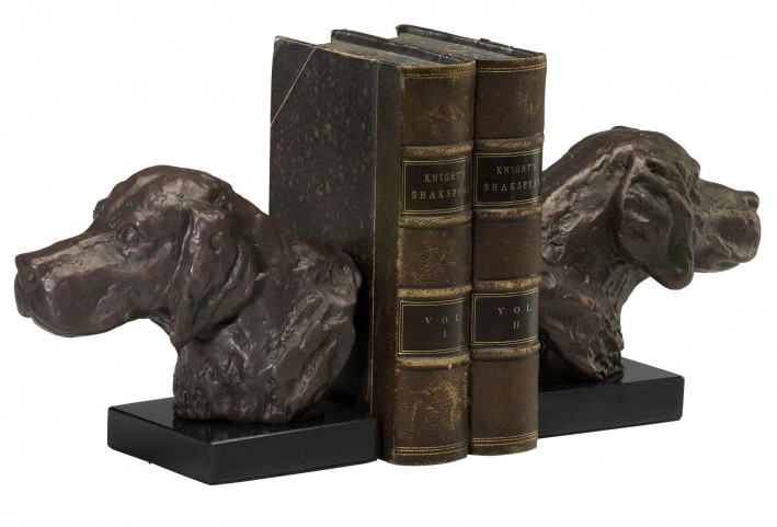 Hound Dog Bookends Set of 2