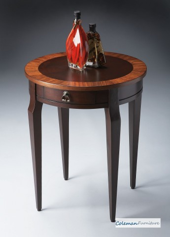 Cherry Nouveau Side Table