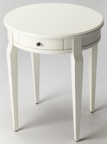Archer Cottage White Side Table