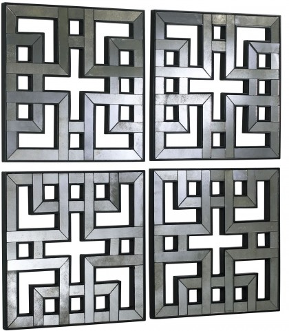 Akari Mirror Panels Set of 4