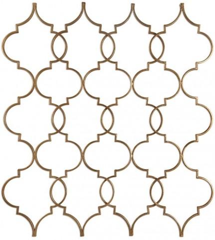 Zakaria Gold Wall Art
