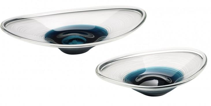 Cobalt Oval Small Bowl