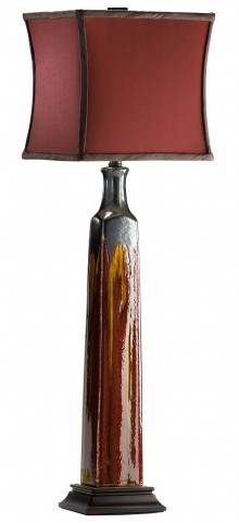 Golden Buffet Lamp