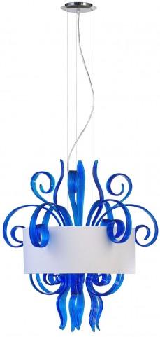 Jellyfish Cyan Medium Pendant